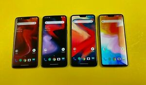 OnePlus 6 - 64GB 128GB 256GB (Unlocked) 8GB / 6GB Ram - Dual Sim - Choose Color