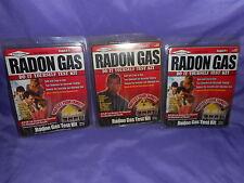 3 NEW PRO LAB RADON GAS TEST KIT RA100 DO IT YOURSELF PROTECT YOU FAMILY