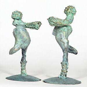 """Kunst Skulptur """"Ikarus"""" 14cm Unikat Andreas Loeschner-Gornau"""