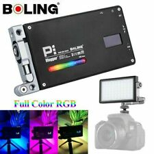 Boling BL-P1 12W RGB Pocket LED Video Light Full Color 2500-8500K  Studio Camera