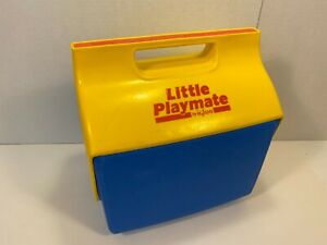 Vintage Igloo Little Playmate Cooler Blue Yellow RARE