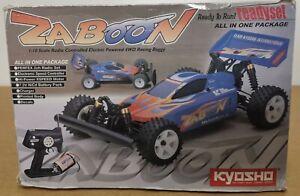 Kyosho Rc Zaboon 4wd 1:10 Readyset Nuova Rara Vintage buggy no Nikko no tamiya