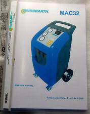 Service-Buch / Service Manual Beissbarth Klimaservicegerät MAC 32