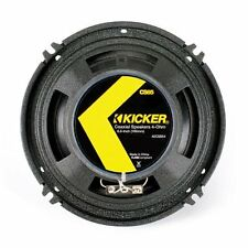 "Kicker 40CSS654 6-1/2"" CS Component Speaker - Pair (Black)"