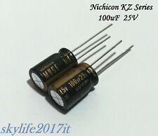 Nichicon FG 3300uF//25V /'/'Fine Gold/'/' condensatore elettrolitico UFG1E332MHM