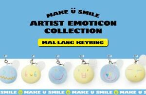 SHINee SMTOWN OFFICIAL GOODS Make U Smile MAL-LANG MALLANG KEYRING KEY RING NEW