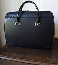 Jack Georges Brief Case   Black     Milano Collection 3206