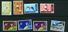 China (Taiwan) 1968 8x different MNH stamps  - see scan and description