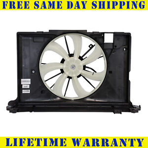 Radiator And Condenser Fan For Toyota Corolla Pontiac Vibe TO3115156