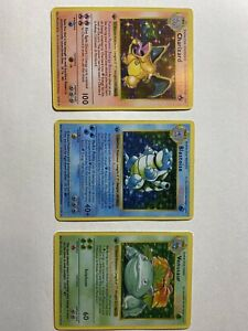 1st Edition Shadowless Base Set Replica/Proxy Cards