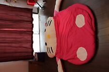 Cartoon Hello Kitty Tatami Sofa Filled Bed Sleeping bag Twin/Queen Mattress