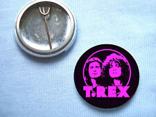 T.Rex  25mm  Badge Marc Bolan  The Slider Glam Rock David Bowie Electric Warrior