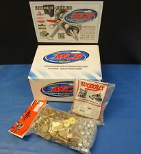 "WOODY'S 120 PACK TRACTION MASTER GOLD DIGGER STUDS  1.325"" W 1/2 TALL LARGE NUTS"