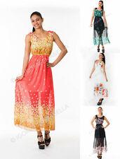Tall Floral Sleeveless Dresses for Women