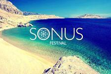 Sonus Weekend festival ticket x2 + x2 shuttle passes