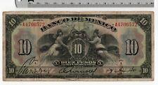 10 Pesos Series I Banco de Mexico - 1925-34 Large Bill Mexican Banknote