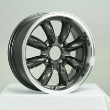 5 PCS ROTA RB WHEELS 15X6 4X95.25 +25 73 ROYAL GUNMETAL TR8 SPITFIRE GT6 EUROPA