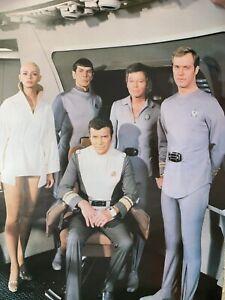 Star Trek The motion picture 1979 original movie poster 1980 Captain Kirk