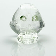 Skull Design Figurine Statue Car Decor Crystal Clear Carved As A Gift Cd838A