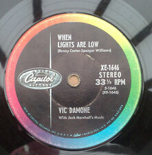 """Vic Damone """"in the still of night"""" vrare usa 17.8cm stereo compact long play"""