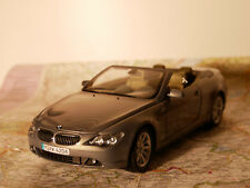 KYOSHO BMW 6-ER CABRIO ANTZ.MET ART.80430153438 BWM-DEALER-VERSION+BOX 1:18 NEW
