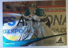 Harri Sateri RC 2011-12 Pinnacle #280 San Jose Sharks, Springfield Thunderbirds