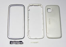 white Housing Cover facia Fascia faceplate case for nokia 5230 with Stylus -000
