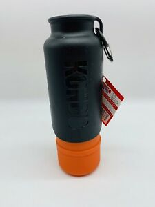 Kong H2O Stainless steel dog water bottle 25 oz Orange Bottle