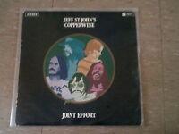 JEFF ST JOHN'S COPPERWINE - JOINT EFFORT * OZ SOUL FUNK PROG PSYCH ROCK LP