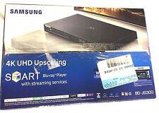 Samsung BD-J6300 BDJ6300 4K UHD Upscaling 3D WiFi Smart Blu-ray DVD Player Box