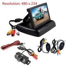 "4.3"" Car HD TFT LCD Monitor+Wireless Reverse Car Rear View Backup Camera Kit"