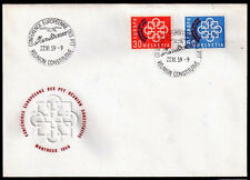 EUROPA CEPT FDC 1959 SUISSE 2