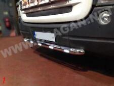 Para adaptarse a Scania Serie P G R 6 Acero Inoxidable 09+ Barra Parachoques corto + Led Blanco x5