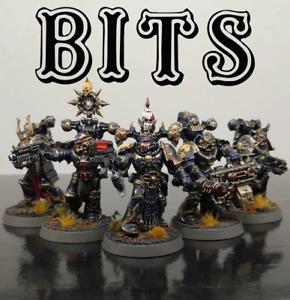 9 variantes Chaos Space Marine Squad bits//pièces-schoulder Pads