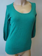 Viscose Scoop Neck 3/4 Sleeve Jumpers & Cardigans for Women