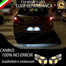 LUCI TARGA LED ALFA ROMEO 147 CANBUS 100% NO AVARIA 6000K