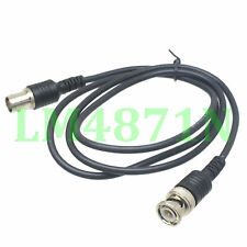 Cable BNC male to BNC female Oscilloscope test probe 3FT wire 6A extension cord