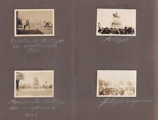 1922 original period Uruguay beautiful rare photos lubolos black carnival ethnic
