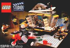 Notice Building instruction booklet LEGO STUDIOS / set  1352 Explosion Studio