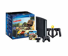 PlayStation PS3 Slim 250GB Little Big Planet: Karting Move Bundle slightly used