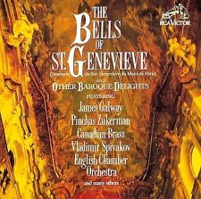 The Bells Of St Genevieve & Other Baroque Delights CD EX Canadian Brass etc