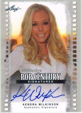 2011 LEAF POP CENTURY AUTOGRAPH AUTO: KENDRA WILKINSON #9/25