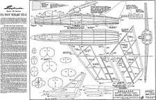 SKYLEADA NAVY CUTLASS JETEX 50 PLAN free flight
