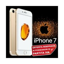 "SMARTPHONE APPLE IPHONE 7 32GB GOLD ORO 4,7"" TOUCH ID 3D 4G IOS 12MPX PER P.IVA."