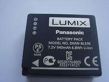 Batterie D'ORIGINE Panasonic DMW-BLE9E 7.2V 940mAh 6.8Wh GENUINE NEW ACCU