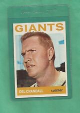 1964 Topps S.F. Giants Del Crandall # 169 NM-MT Tough Low Pop Card !!!