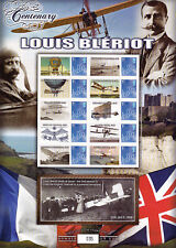Z08 Imperf Djb17502b Djibouti 2017 Louis Bleriot Mnh ** Postfrisch Briefmarken Dschibuti