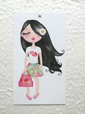 100 Hang Tags Boutique Tags Merchandise Tags Pretty Girl Tags Accessories Tags