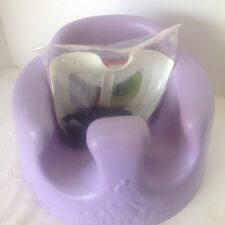 Lilac Purple BUMBO baby floor seat with harness safety kit/ Buckle Feeding Chair