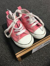 Pink Converse Boxed Baby Girl Size 2 Uk 3-6 Months